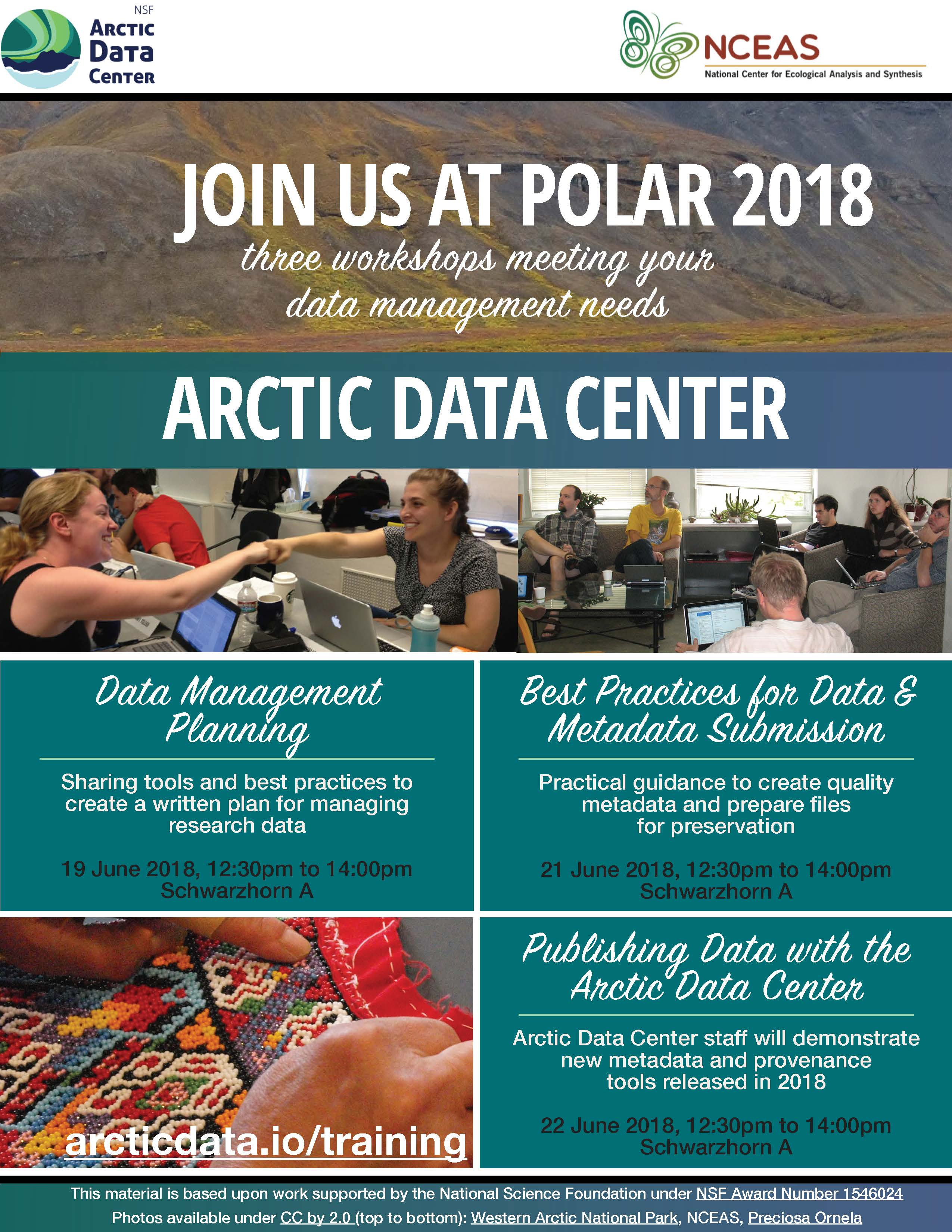 POLAR 2018 Workshops